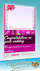 Wedding Greeting Cards screenshot 1