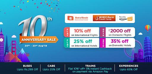 Goibibo - Flight Hotel Bus Car Train IRCTC Booking - by