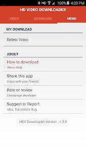 HD Video Downloader v1.3.4 (Ad Free)