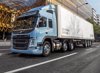 Volvo is introducing liquified natural gas trucks in some European markets. Picture: VOLVO TRUCKS