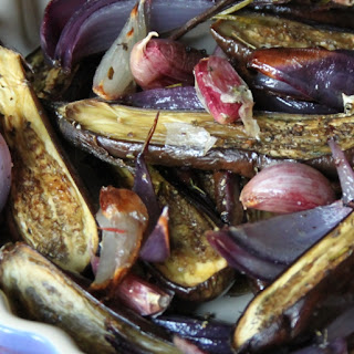 Roasted Baby Eggplants with Mediterranean Herbs Recipe