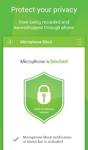 Mic Block - Anti spy & malware Screenshot 1