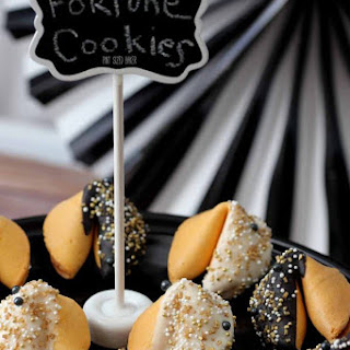 Candy Dipped Fortune Cookies Recipe