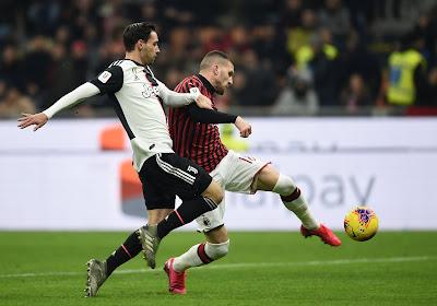 Coup dur pour l'AC Milan: un titulaire en moins pour choc contre la Juve