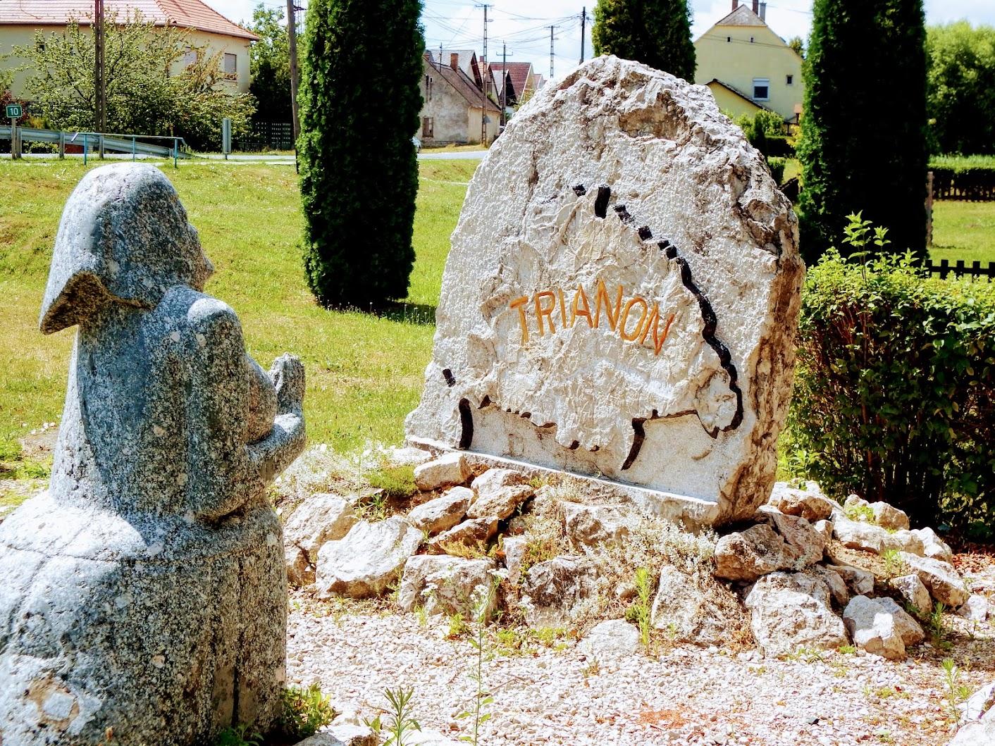Pusztavám - Trianon-emlékmű