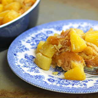 Baked Pineapple French Toast