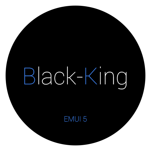 Black-King EMUI 5 Theme