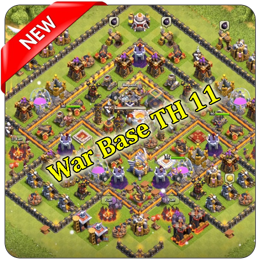 War Base Map COC TH 11