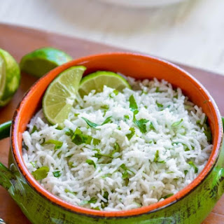 Easy Cilantro Lime Rice.
