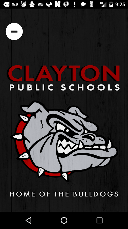Clayton Public Schools- screenshot