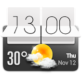 HTC Sense Style Weather Widget