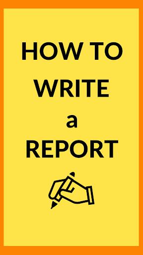 How To Write A Report ss1