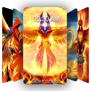 Phoenix Wallpaper & Lock Screen QHD
