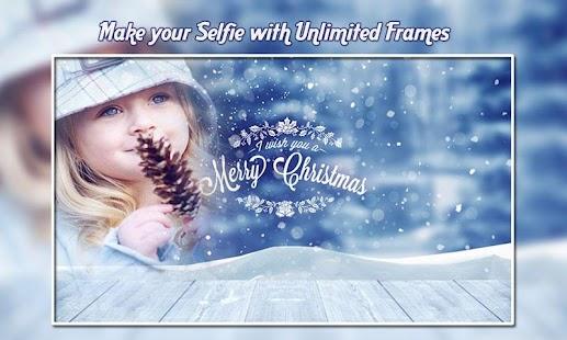 Christmas Photo Frames : Santa Claus Photo Frames - náhled