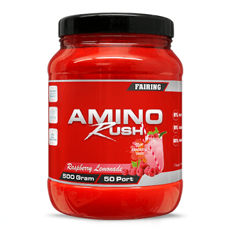 Fairing Amino Rush 500g - Raspberry Lemonade