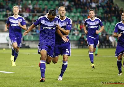 Anderlecht offre un nul à Saint-Etienne