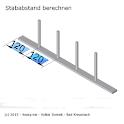 Calculate bar distance icon
