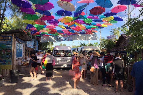 Get picked up by minivan from your hotel on Samui