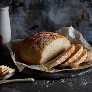 Instant Pot no-knead bread.