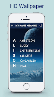 My Name Meaning: Name Art - náhled