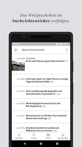 SZ.de - Nachrichten - Süddeutsche Zeitung 12.0.0 screenshots 4