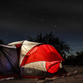 Fresh air by Timothy Horng - Landscapes Starscapes ( mountain, afternoon, beautiful, star, wildlife, breathtaking, pretty, dusk, camp, startrail, sky, superstition, trail, tent, trees, night, campfire,  )