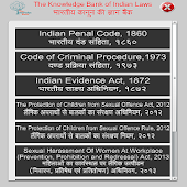 Laws in Hindi and English