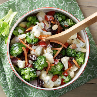 Broccoli-Cauliflower Salad.