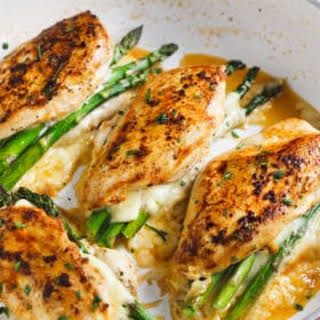 Asparagus Stuffed Chicken Breast Recipes.