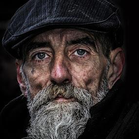 jez by Eddie Leach - People Portraits of Men ( homeless, street, men, people, portrait,  )