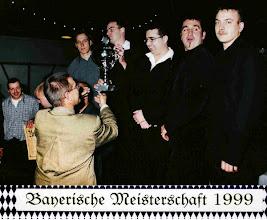 Photo: 1999: 2. Bayerischer Meister Mannschaft unverbaut