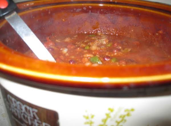Chili Today And Tomorrow - New England Style! Recipe