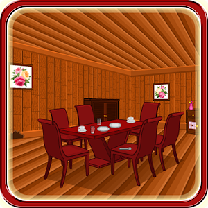 Escape Game-Wooden Dining Room for PC and MAC