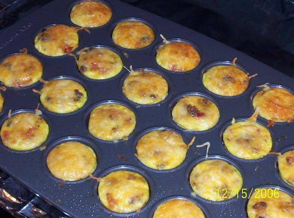Cin's 'sausage And Cheese Mini Frittatas' Recipe