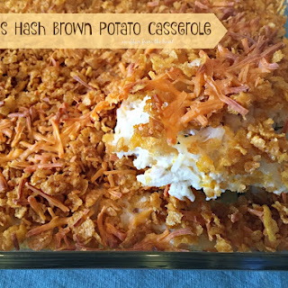 Hash Brown Potato Casserole.