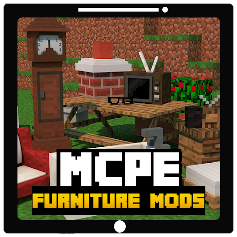 android New Furniture MODS For MCPE Screenshot 0