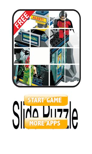 Slide Puzzle Superheroes