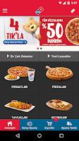 Screenshot of Domino's Pizza Turkey