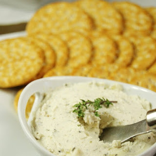 Homemade Boursin-Style Cheese Spread.