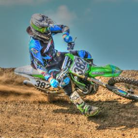 382 by Kenton Knutson - Sports & Fitness Motorsports ( tonemapped, motocross, racing, dirt,  )