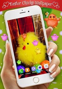Easter Chicks Live Wallpaper - náhled