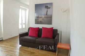 Appartement meublé 2 pièces 26,02 m2