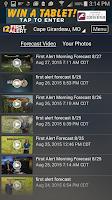 Screenshot of KFVS12 StormTeam Weather
