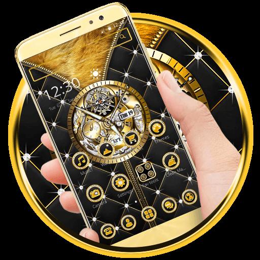 Royal Clock Gold Luxury