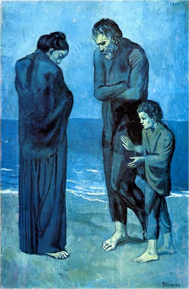 """Poveri in riva al mare"""" di Picasso: analisi"""