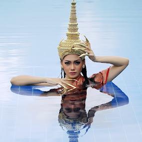 Reflection by Henry Wijaya - People Portraits of Women