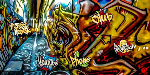 Fashion Graffiti Street Art Screenshot