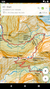 New Zealand (NZ) Topo Map