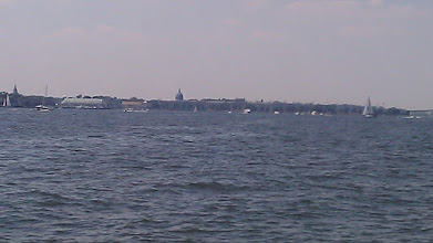 Photo: Approaching Annapolis Harbor