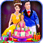 Doll Cake Maker Cooking Game icon